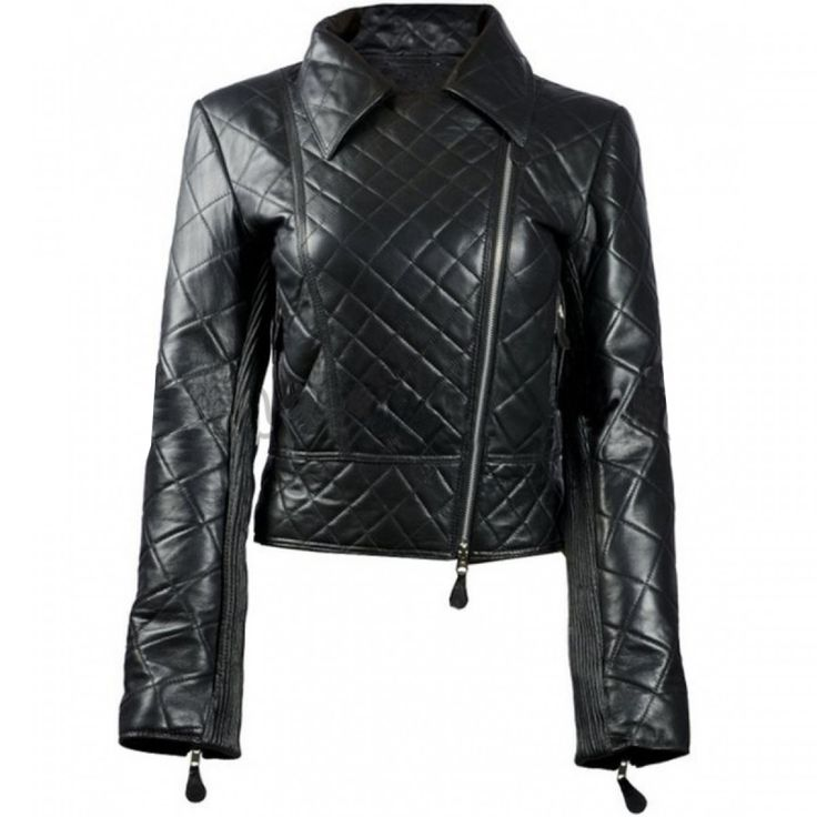 24 best women leather jackets images on Pinterest | Women leather ...