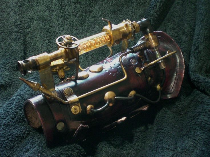 An arm brace - The 28 Most Popular Steampunk Materials at Your Local Hardware Store « Steampunk R&D