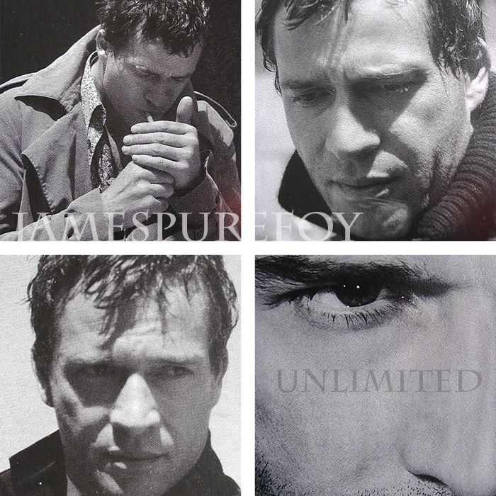 JAMES PUREFOY in black and white...What more could anyone ask for?