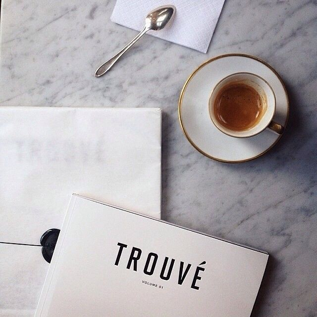 Trouvé Magazine | Volume 01 in stock at the Paris Market in Savannah, GA