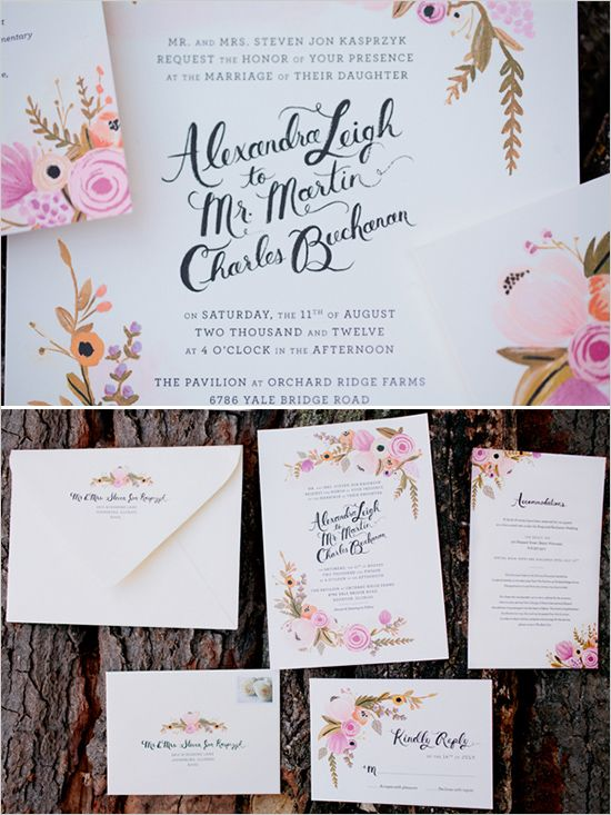gorg wedding invites by @Anna Bond via @wedding chicks