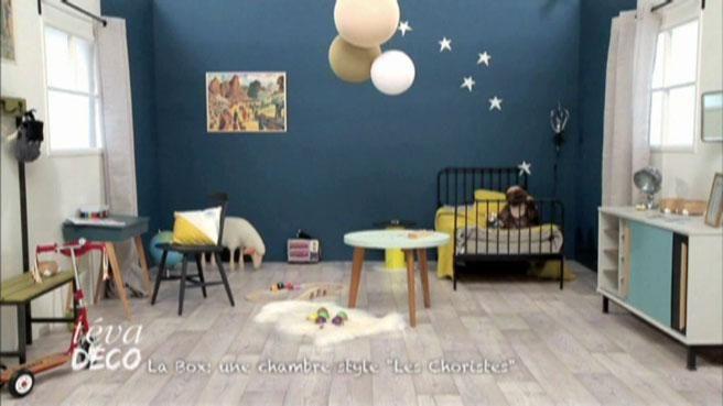 teva-deco-affiche-vintage-chambre-enfant : suspension