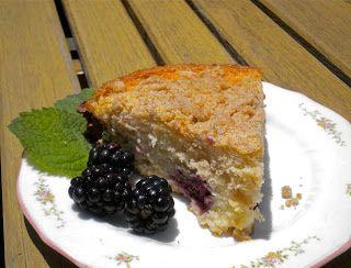 Kitchen Cactus: Blackberry Coffee Cake