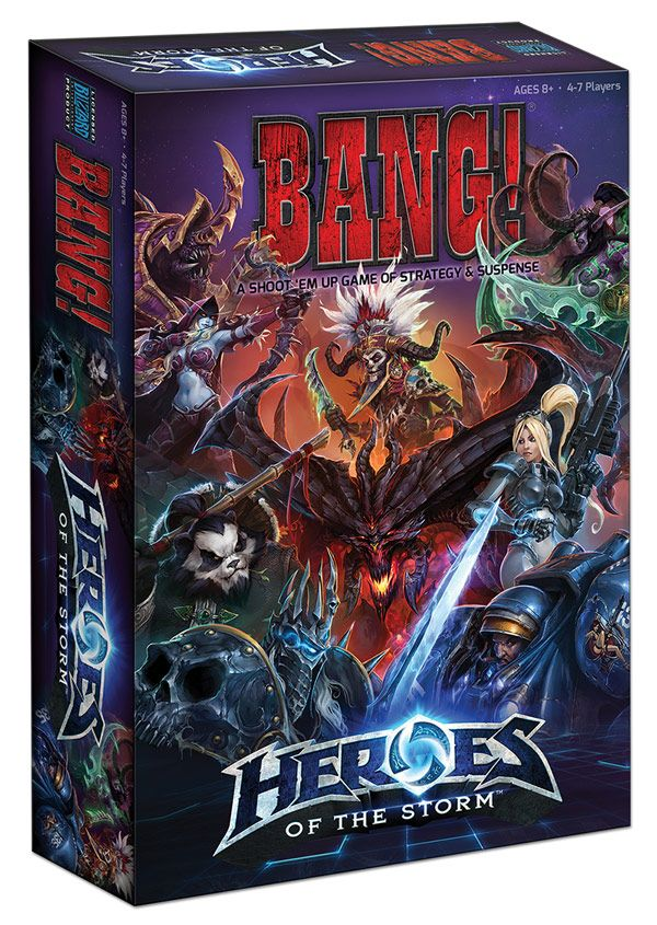 Bang!: Heroes of the Storm Game