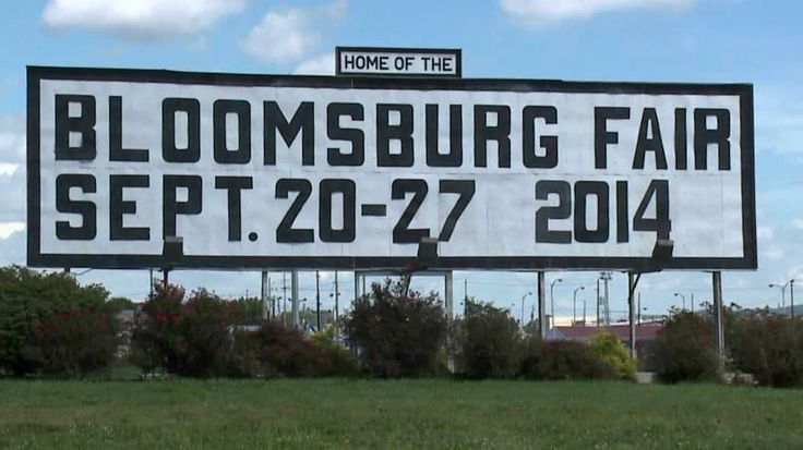 What's New at the Bloomsburg Fair?