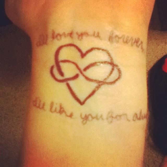 Pinterest the world s catalog of ideas for Love always tattoo