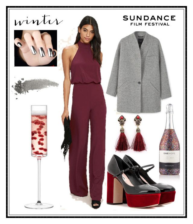 """sund∆nce"" by cs1gusz on Polyvore featuring LULUS, Miu Miu, MANGO, LSA International and Gucci"