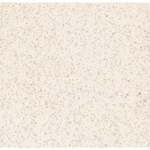 3 in. Quartz Countertop Sample in River Shoal-LG-1250-VT at The Home Depot