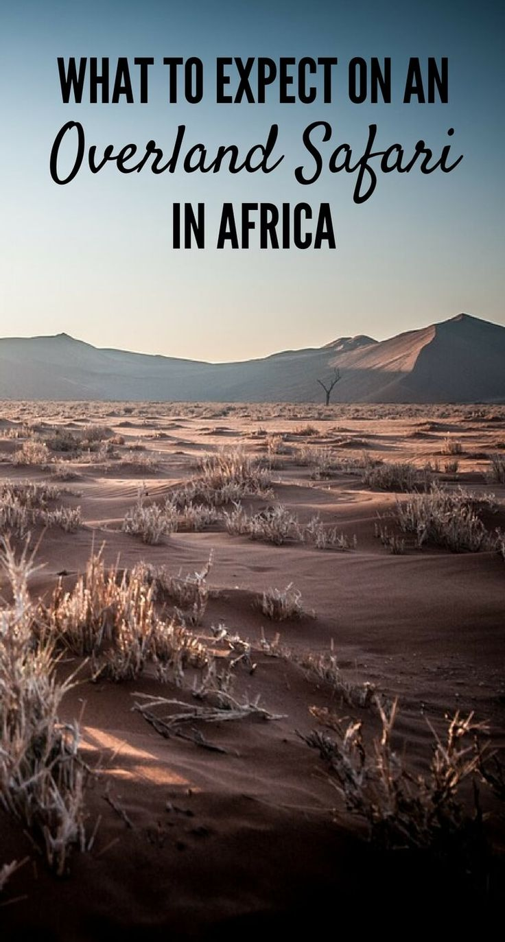 Africa Map Horn Of Africa%0A Tips for taking an overland safari in Africa