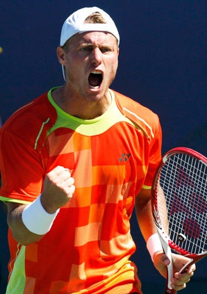 Lleyton Hewitt, U.S. Open champ in 2001, reached the second round after beating Tobias Kamke in four sets. #Tennis
