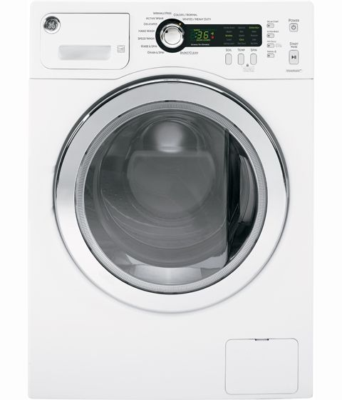 "GE 24"" White Only Stacked Washer Front Load"
