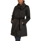 Jones New York Women's Satin Double Breasted Belted Coat (Apparel)By Jones New York