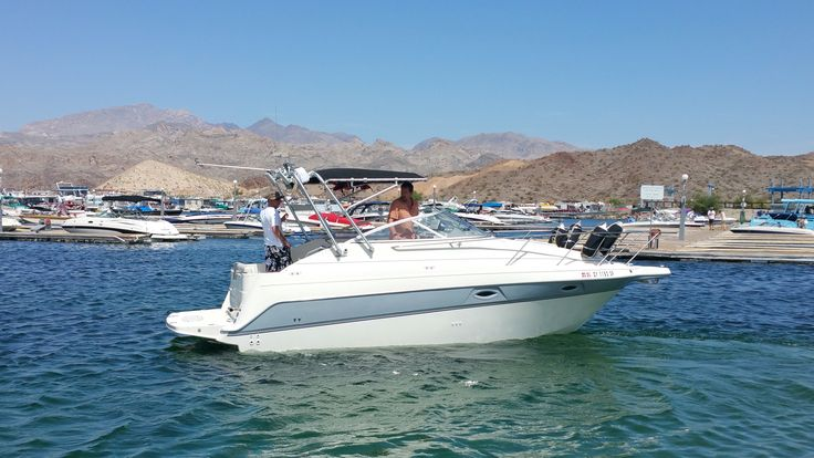 Lake mohave with the 2400se boat fun vehicles