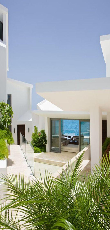 balinese influenced villa kishti in anguilla mansions homescaribbean - Caribbean Homes Designs