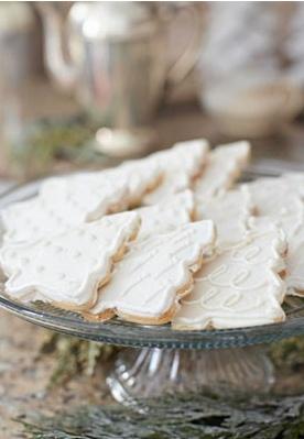 Christmas Tree Cookies: Holiday, White Christmas Trees, Christmas Baking, Sugar Cookies, Christmas Tree Cookies, Christmas Cookies, Xmas, Christmascookies