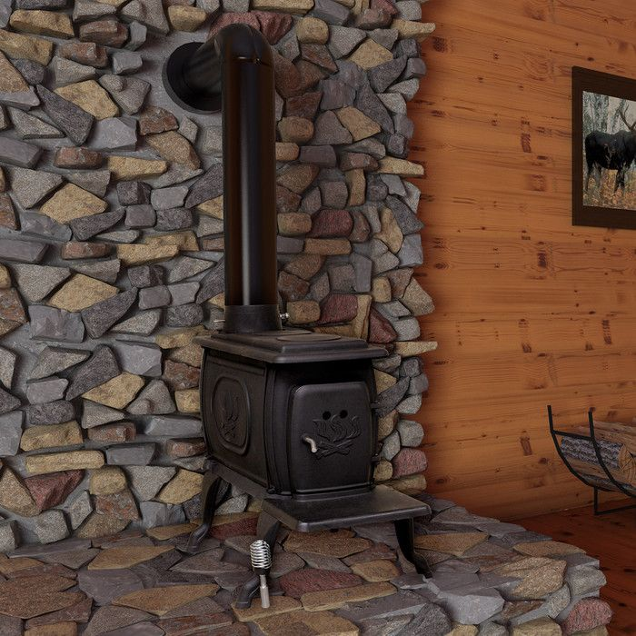 You'll love the EPA Certified Cast Iron Log 900 Square Foot Wood Stove at Wayfair - Great Deals on all Home Improvement  products with Free Shipping on most stuff, even the big stuff.