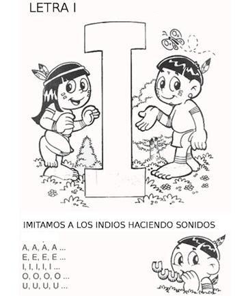 NUESTROS NOMBRES Y CUMPLEAÑOS INDIOS: CON I DE INDIO. ~ Enseñando y Aprendiendo