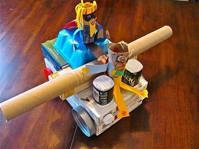 17 best images about kids 39 recycle crafts on pinterest for Investigatory project recyclable materials