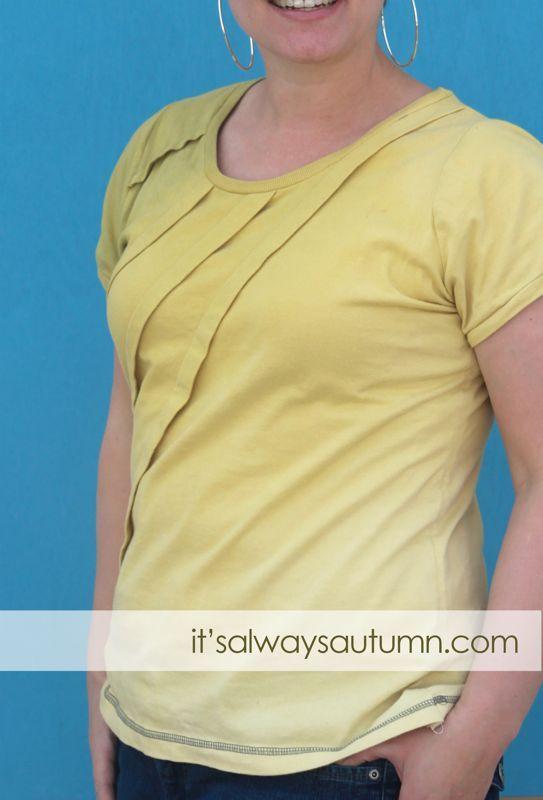 T-shirt remake AND Rit dye