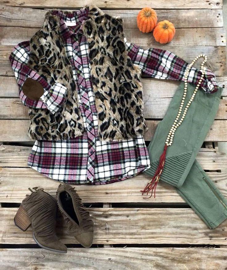 Snuggle Up Cheetah Vest
