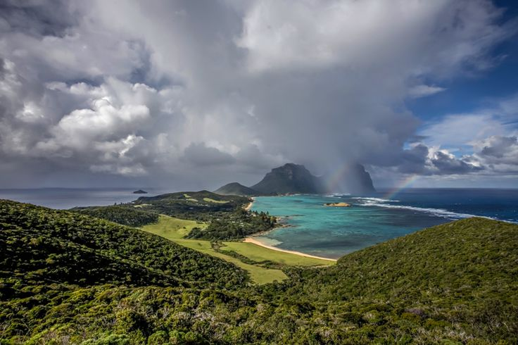 The view form North Head | 7 Peaks Walk | Lord Howe Island