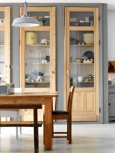 25 beste idee n over kast ontwerpen op pinterest slaapkamer kasten kast redo en kast verbouwen - Redo keuken houten ...