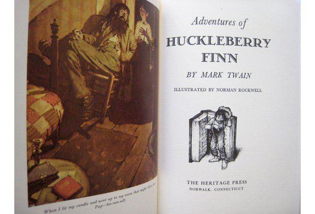 Norman Rockwell Illus, Huckleberry Finn