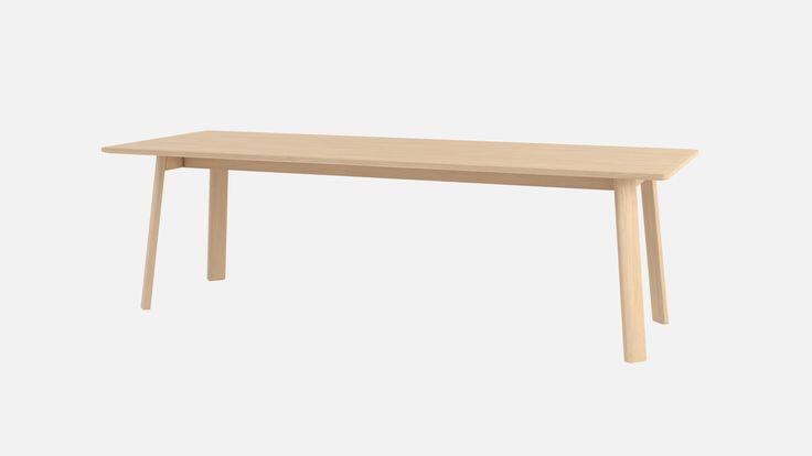 Alle Dining Table - pale Oak 250 cm | Hem.com
