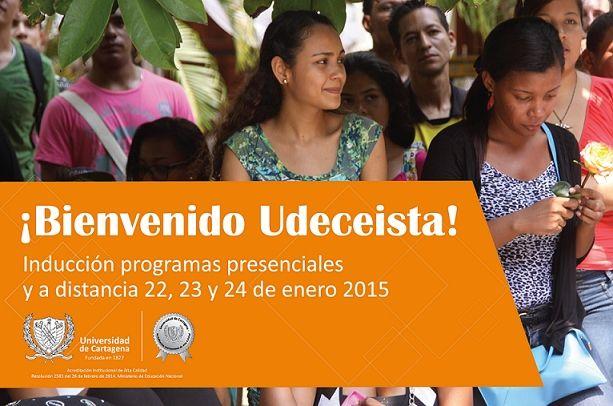 Inducción de Estudiantes Nuevos. #Unicartagena #Inducción2015