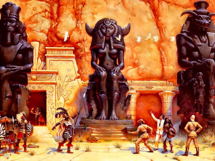 King Solomon's Mines by Don Maitz