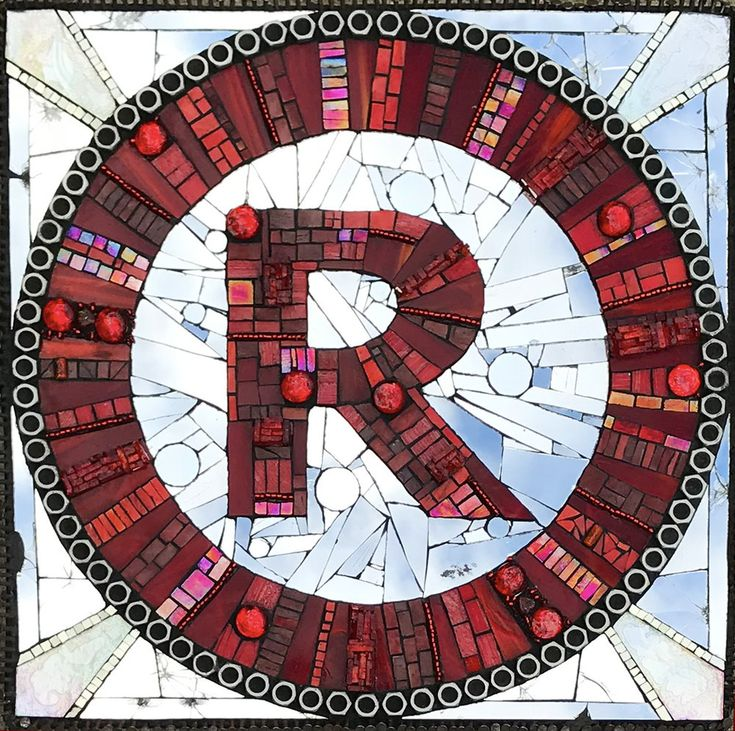 Registered Trademark Mosaic by mosaic artist Dyanne Williams
