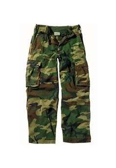 Kids Woodland Camouflage Vintage Paratrooper Fatigues ! Buy Now at gorillasurplus.com