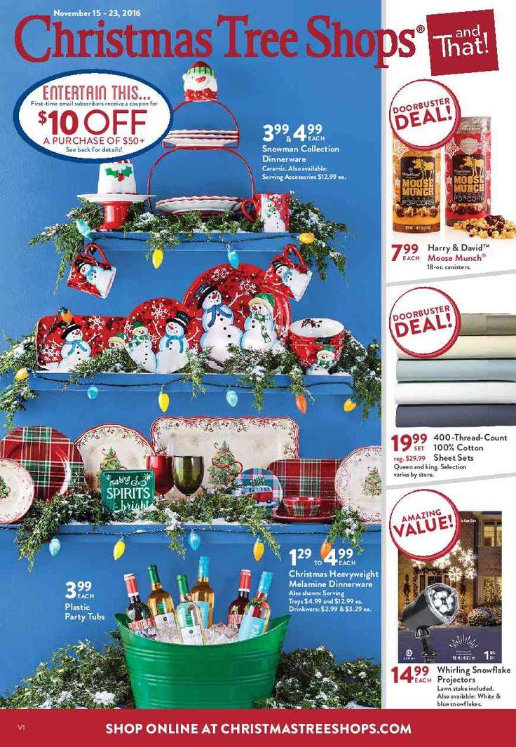 Christmas Tree Shops Ad November 15 - 23, 2016 - http://www ...