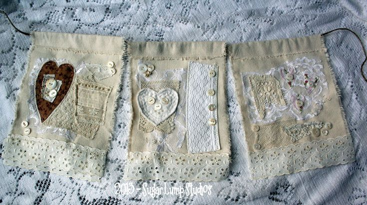 {Love Prayer Flags} 14 heARTS Day #8  free tutorial