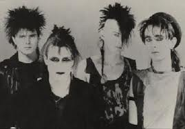 Love these first wave bands 'cause there look is so dated. Need to do a before and after for Sex Gang Children who formed in 1980's in England and are said to be one of the original Post-Punk and Gothic Rock groups to come out with any recognition.