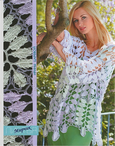 crochet - clothes and motifs patterns
