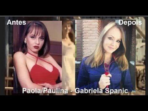 Antes e Depois dos personagens da novela Usurpadora 2015 - YouTube