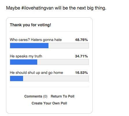 iHateVan blog