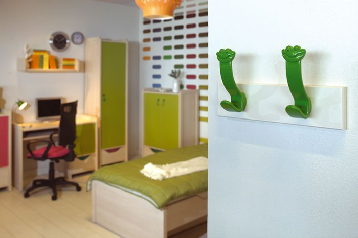 Wieszaki Happy Frog #uchwyt #meble #dzieci #pokoj #dzieciecy #knob #doorknob #child #room #design #fun #cameleon #colors #diy
