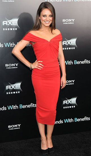 Mila Kunis...I wish I looked like this in this style of dress...