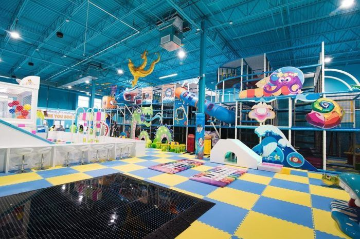 The Ocean Themed Indoor Playground In Maryland That S Insanely Fun Indoor Playground Indoor Play Areas Indoor Play Places