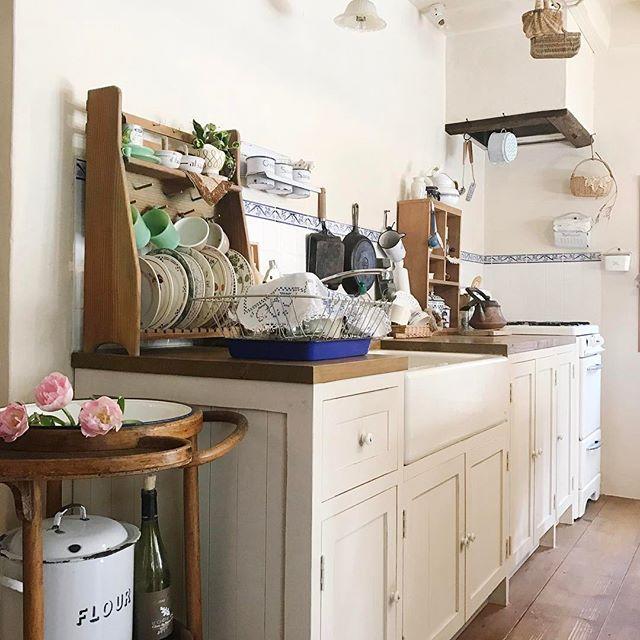 キッチン収納実例を大特集 おしゃれに見えて使いやすいキッチン収納