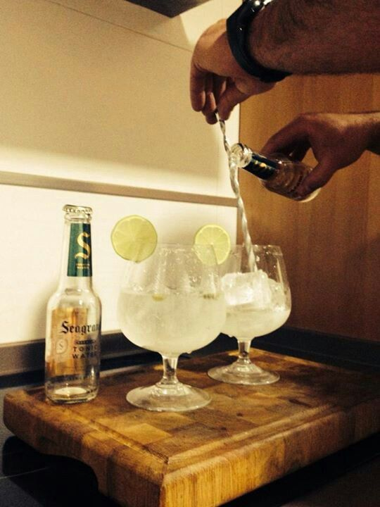 2 #GinTonic doble #Seagrans