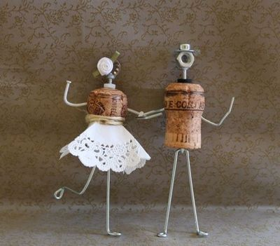 wedding ideas made with corks - Google Search