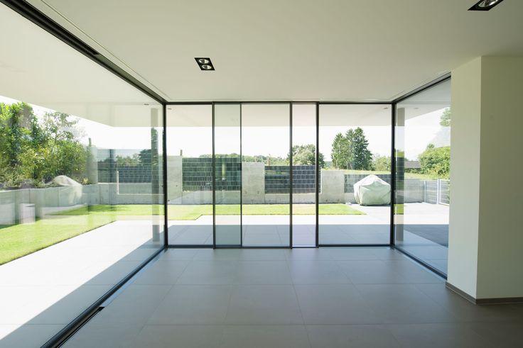 Aluminium sliding window KELLER minimal windows®4  by KELLER