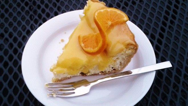 Cheesecake met mandarijn-curd; een traktatie voor de wintermaanden