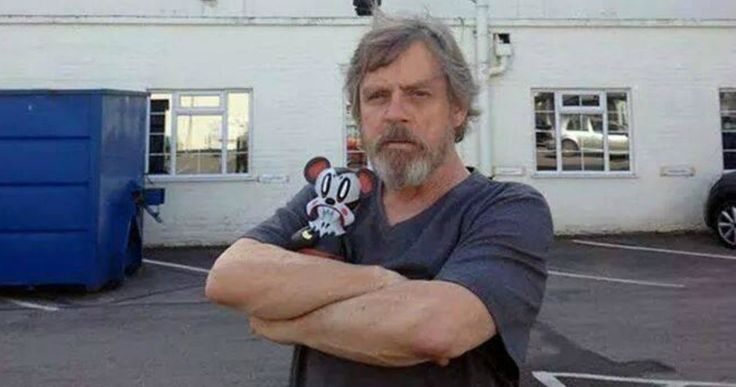 'Star Wars 7': Mark Hamill Spotted On Set with 'VII' Logo -- Mark Hamill shows off his trimmed Jedi beard outside of the London soundstages where 'Star Wars: Episode VII' is being shot. -- http://www.movieweb.com/news/star-wars-7-mark-hamill-spotted-on-set-with-vii-logo