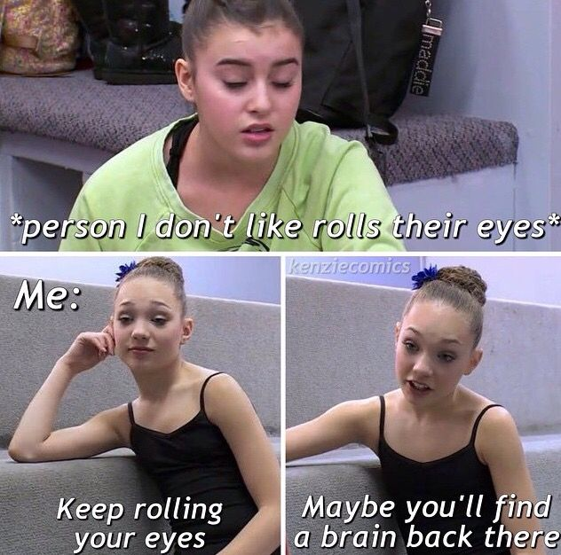 Maddie and Kalani are good friends but this is just really funny!!
