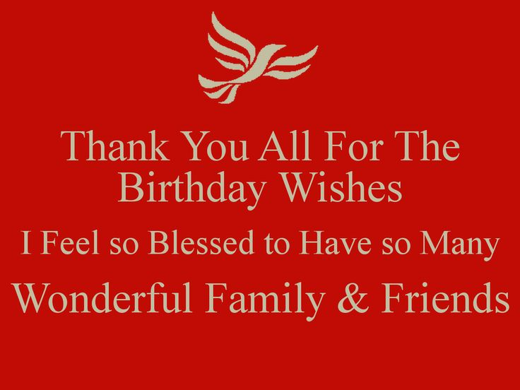 Thanks for all your birthday greetings choice image greeting card 9 best thank you images on pinterest anniversary cards happy m4hsunfo