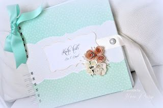 wedding guest book mint